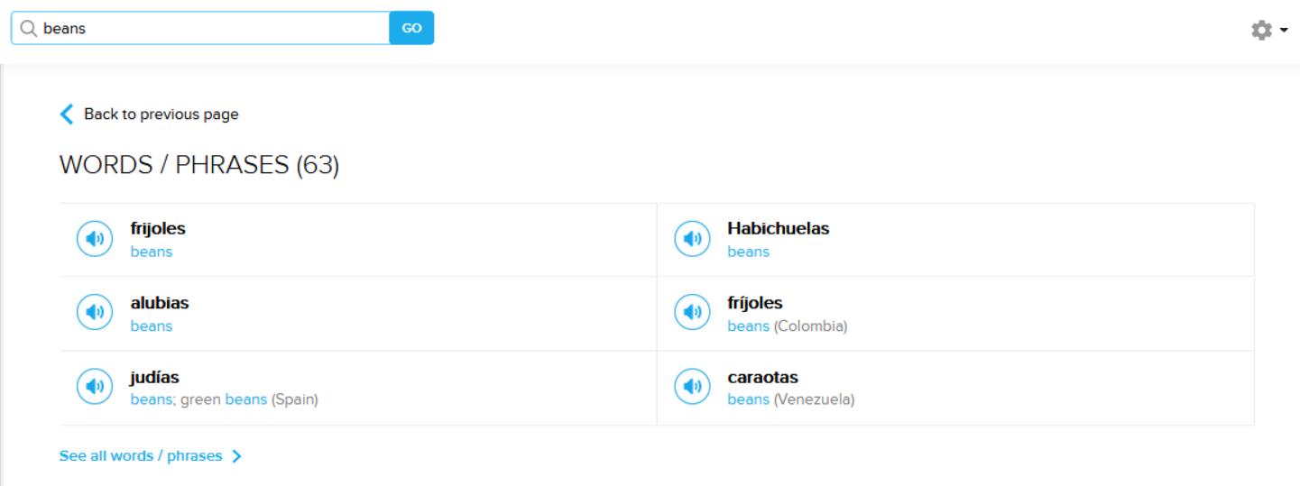 spanish translation website