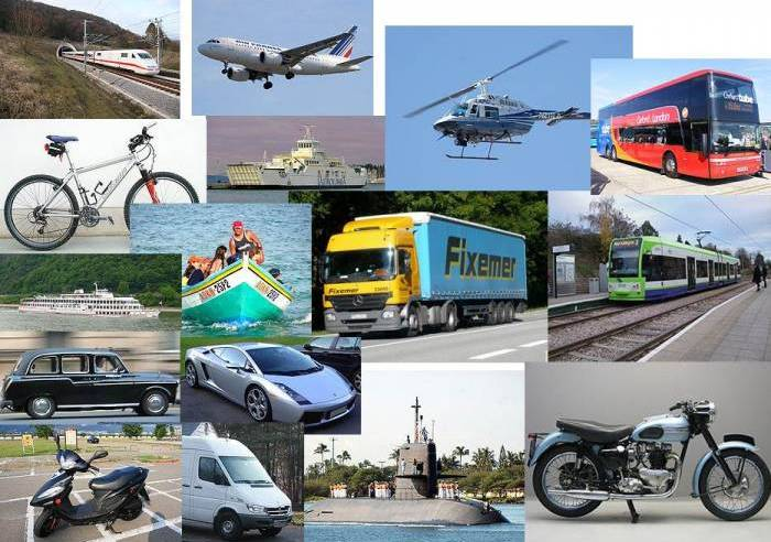 Get Going! Spanish Transportation Vocabulary for People in a