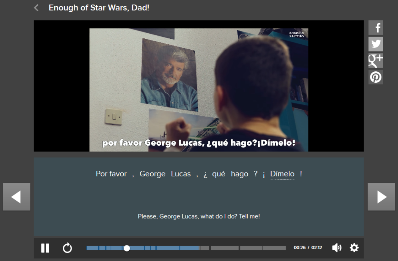 spanish star wars