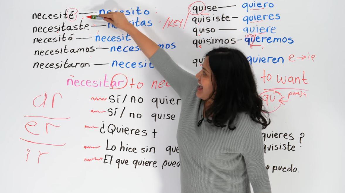 youtube spanish lessons