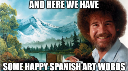 spanish art words
