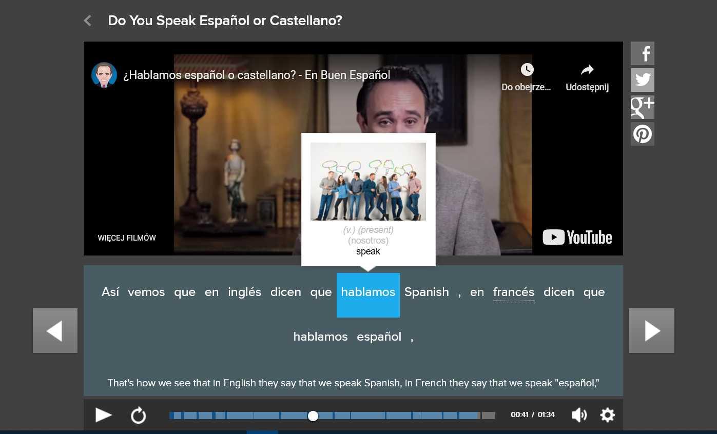 writing in spanish