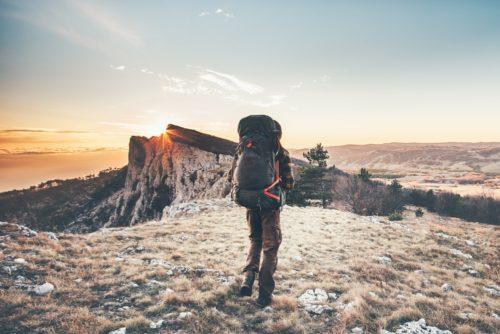 front-loading travel backpacks