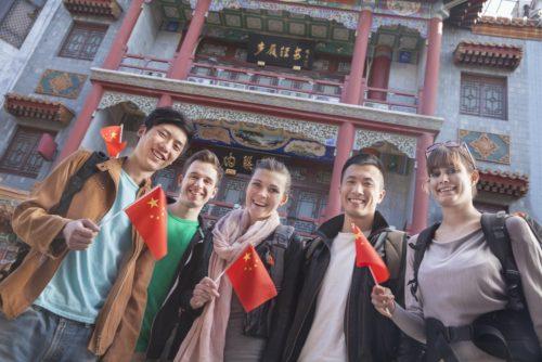 make friends in china