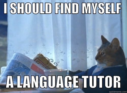 all caps language tutor