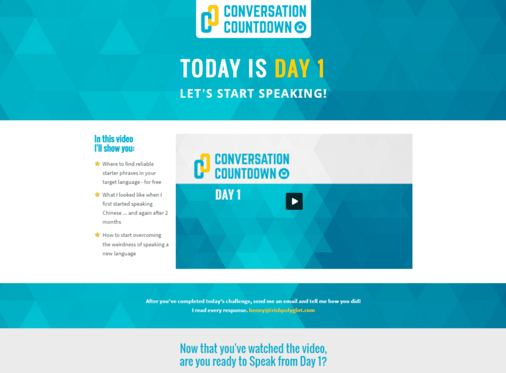 conversation-countdown-review-day-one