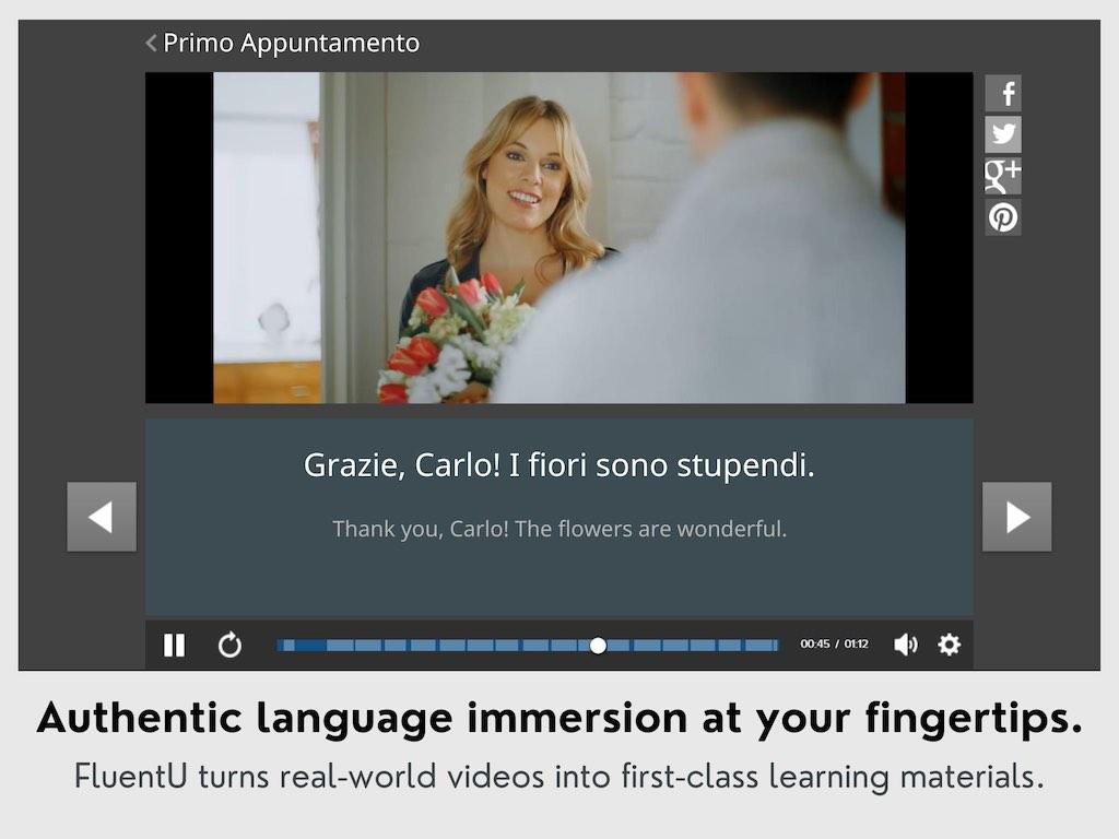 FluentU Ad