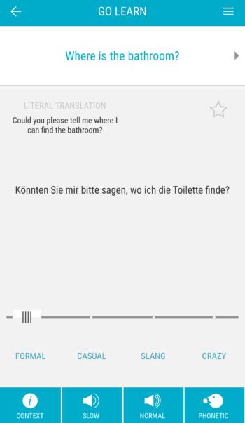 triplingo review phrase example german